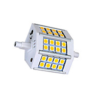 R7S 5 W 24 SMD 5050 330lm LM Warm White / Cool White T Corn Bulbs AC 85-265 V