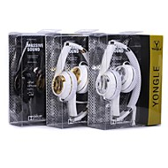 YongLe-13 Hi-Fi 3.5mm Foldable Powerful Sound Experience Dynamic Bass Headphone with Microphone (Assorted Color)