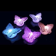 Cute  Butterfly Design Plastic Night Light (1pcs)
