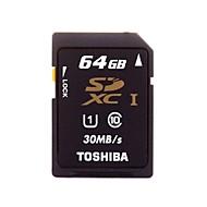 toshiba clase 64gb 10 UHS-1 Tarjeta de memoria SDHC 30MB / s sd-c64gr7wa3