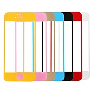 Link Dream Colorful Premium Tempered Glass Screen Protector with Holder  for iPhone 5/5S