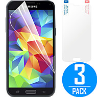 DSB® Premium High Penetration HD LCD Screen Protector with Cleaning Microfiber Cloth for Samsung Galaxy S5 (3 Pack)