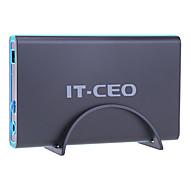 IT-CEO F8 3.5 Inch SATA USB 3.0 Hard Drive Case