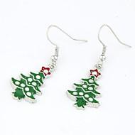Jul serien - juletræ øreringe