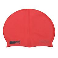 mesuca® 마사지 수영 모자 모듬 된 색상이 어두운 자주색 오렌지 회색 레드 블랙