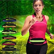 enkelt lomme elastisk lille personlige element bælte opbevaringspose til Samsung Galaxy i9100 / i9300 / i 9500 / i9600 (assorterede farver)