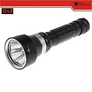 Taucherleuchten LED 3 Modus 2700 Lumen Wasserdicht / Wiederaufladbar / Stoßfest / rutschfester Griff / Schlag-Fassung Cree XM-L2 U218650