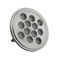 Spot LED Blanc Froid AR111 G53 12W 12 LED Haute Puissance 1300LM LM DC 12 V