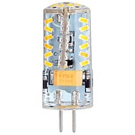 3W G4 LED Corn Lights / LED Bi-pin Lights T 57 SMD 3014 250 lm Warm White DC 12 / AC 12 / AC 24 / DC 24 V