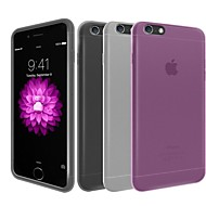 ultra dunne frosted beschermhoes voor iPhone 6 plus