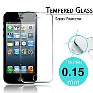 choc prime écran en verre trempé film protecteur preuve pour l'iphone 5/5 s / 5c (0,15 mm)