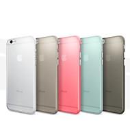 Voor iPhone 6 hoesje / iPhone 6 Plus hoesje Ultradun / Mat hoesje Achterkantje hoesje Effen kleur Hard PCiPhone 6s Plus/6 Plus / iPhone