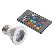 sanan E26/E27 4 W 1 150 LM RGB/Color-Changing Decorative Spot Lights AC 85-265 V
