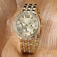 vrouwen horloge mode diamante luxe gouden wijzerplaat