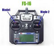 2014 nieuwe versie fs flysky fs-i6 2.4g 6ch zender en ontvanger systeem LCD-scherm