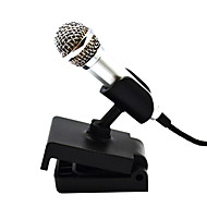 kreativ mini kondensatormikrofon med stativ til sang optagelse