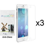 3 x Anti-Glare Matte Screen Protector with Cleaning Cloth for iPhone 6S/6