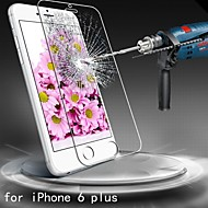 anti-scratch ultra-tynne herdet glass skjermbeskytter for iPhone 6s / 6 pluss