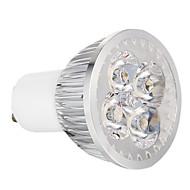 с регулируемой яркостью GU10 4W 360lm 3000-3500k теплый белый свет водить пятна лампа (220)
