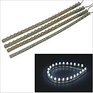 Carking™ PVC-24cm Flexible Waterproof LED Light Strip for Cars/Motorcycles-4PCS