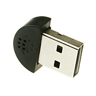 Mini USB 2.0-mikrofoni PC