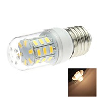 E26/E27 4 W 30 SMD 5730 200 LM Warm White T Corn Bulbs AC 220-240 V