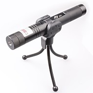LT-0675 Adjustable Focus Burning Lighter Cutting Green And Red Laser Pointer (4mw,532nm/650nm,1xCR18650)