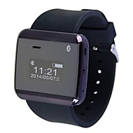 Aoluguya V2 Smart Watch Phone with 0.99'' Screen Remote Taking Photo Bluetooth Stopwatch Notification(Assorted Colors)