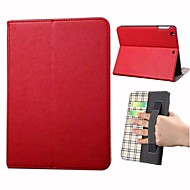 High-Grade Pure Color Pattern PU Leather Full Body Case with Card Slot for iPad mini/mini2/mini3(Assorted Colors)