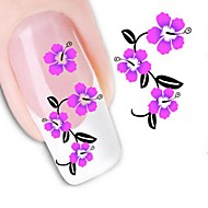 Water Transfer Printing Nail Stickers XF1465
