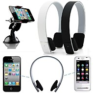 stereo trådløst bluetooth hodetelefon øretelefon headset for iPhone 6 / 6plus / 5 / 5s / 4 / 4S samsung htc lg sony Xiao mi