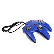 n64 usb azul controlador diseño pc