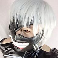 Maszk Ihlette Tokyo Ghoul Szerepjáték Anime Szerepjáték Kiegészítők Maszk Fekete Bőr Férfi / Nő