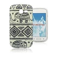 norsuja suunnittelumalli TPU kotelo kansi Samsung Galaxy trendi Lite s7390 / s7392