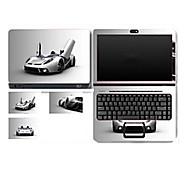 """Sport Auto v117 Muster Laptop Schutzfolie für 14 """"Laptop"""