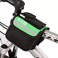 BOI® 自転車用バッグ 8L自転車用フレームバッグ 防水 反射ストリップ 自転車用バッグ ポリエステル サイクリングバッグ サイクリング 15*11.5*12