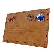 persoonlijke mode envelop pu lederen tas voor ipad mini