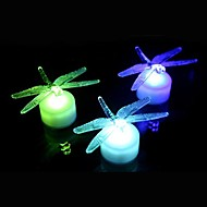 LED Colorful Acrylic Dragonfly  Night Light