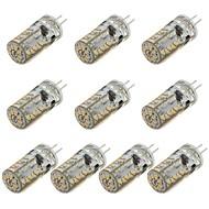 G4 3W 57 SMD 3014 260 LM 温白色 / クールホワイト 装飾用 LEDコーン型電球 DC 12 V