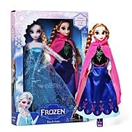 """elsa éclat de princesse et anna vocale OLAF bonhomme de poupée (2pcs 14 """")"""
