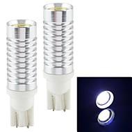 decodifica t10 6w 900lm 6500k led auto luce bianca retromarcia lampada- (12v / 2pcs)