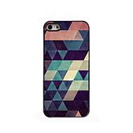 Colorful Triangle Design Aluminium Hard Case for iPhone 4/4S