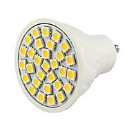 GU10 4.5 W 30 SMD 5050 380 LM Warm White/Cool White Decorative Spot Lights DC 12 V
