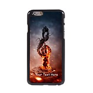 Personalized Phone Case - Music in Fire Design Metal Case for iPhone 6