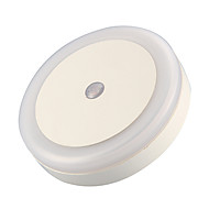 Cool Lntelligent Light-Control Night Light (Round,White)