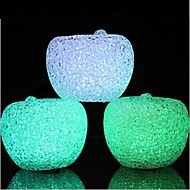 cristal de pomme Night Light LED