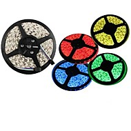5M 300X3528 Smd Warm White Red Green Blue Yellow LED Strip Light (DC12V)