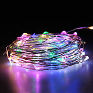 Waterproof 10W 100x0603SMD Soft Copper Lamp Multicolored RGB Lights(DC 12V/1000cm)