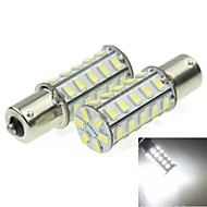 1156 20W 36X5730SMD 800-1200LM 6000-6500K White Light Led Bulb for Car Turn Lamp(A pair/AC12-16V)
