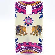 Για Samsung Galaxy Note Με σχέδια tok Πίσω Κάλυμμα tok Ελέφαντας TPU Samsung Note 4